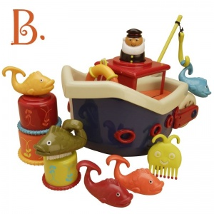 Statek do kąpieli Fish&Splish - B.toys