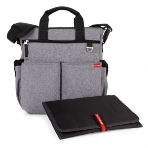 Torba do wózka Duo Signature szara heather grey - Skip Hop