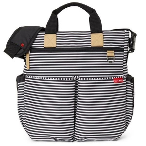 Torba do wózka Duo Signature black/white stripe, w paski - Skip Hop