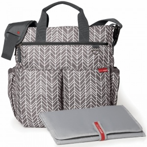 Torba do wózka Duo Signature Grey Feather - Skip Hop