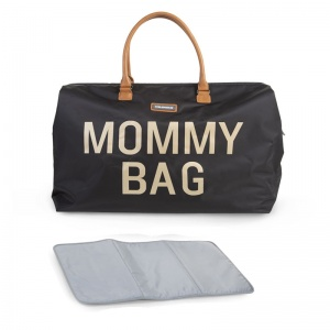 Torba podróżna Mommy Bag, czarna - Childhome