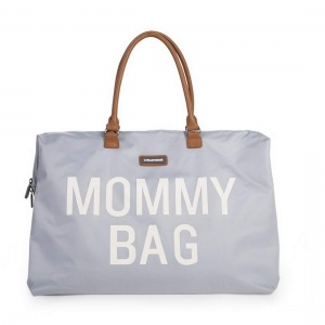 Mommy Bag, torba podróżna szara - Childhome